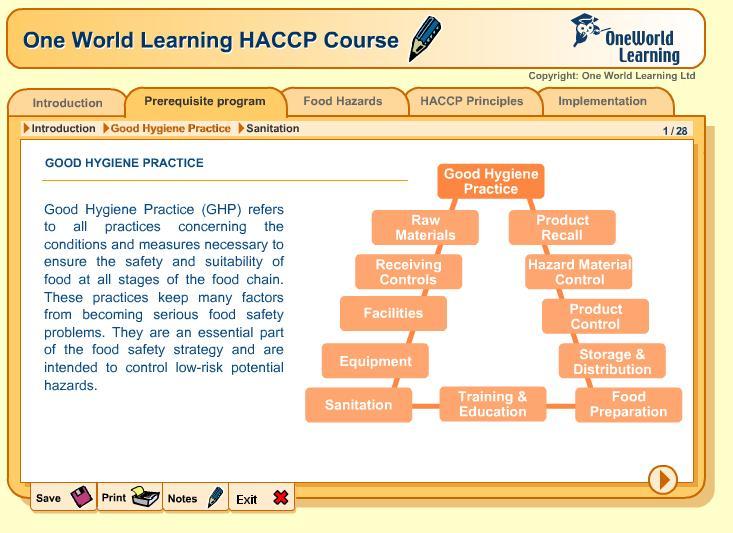HACCP    Training     Online    training    for HACCP